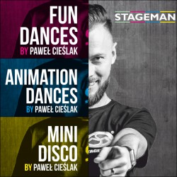 "Pakiet Taneczny 2 x DVD ""Mini Disco"" i ""Animation Dances"""